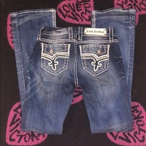Rock revival Betty boot cut jeans Sz 26